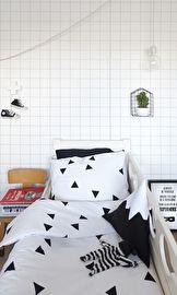 CarlijnQ - Junior duvet covers - Triangle - 120 x 150 cm