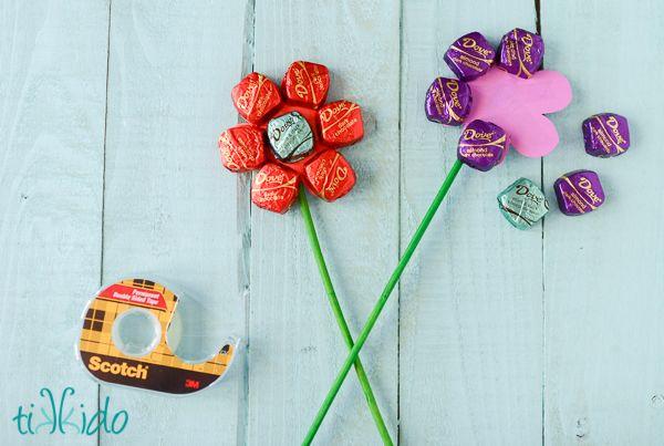 Como Fazer um Buquê de Chocolate Para o Dia das Mães | Revista Artesanato