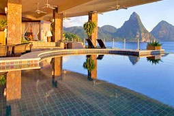 Jade Mountain, St. Lucia.  Must go one day.