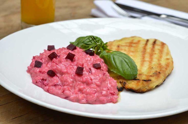 Três receitas de pratos leves do Serafina: lasanha vegetariana, risoto de beterraba e bolo de cenoura sem ...