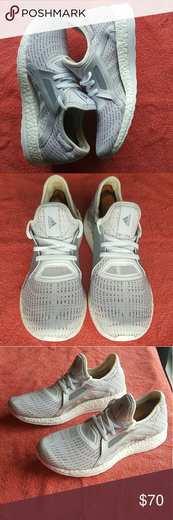 Women's Adidas Pure Boost X Women's Adidas Pure Boost X size 9 excellent condition does not come with box worn one time adidas Shoes Athletic Shoes