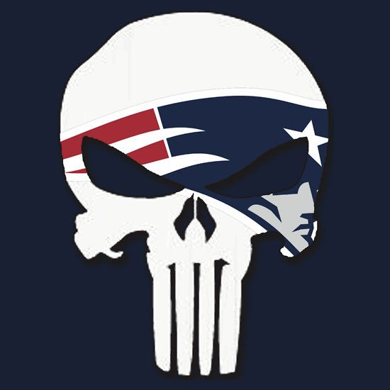 """New England Patriots Punisher Logo"" T-Shirts & Hoodies by VelocityDesigns 