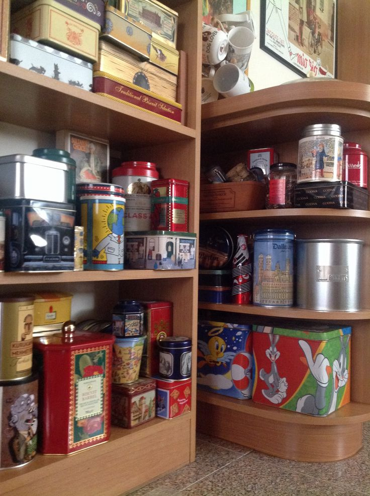 Tins collection