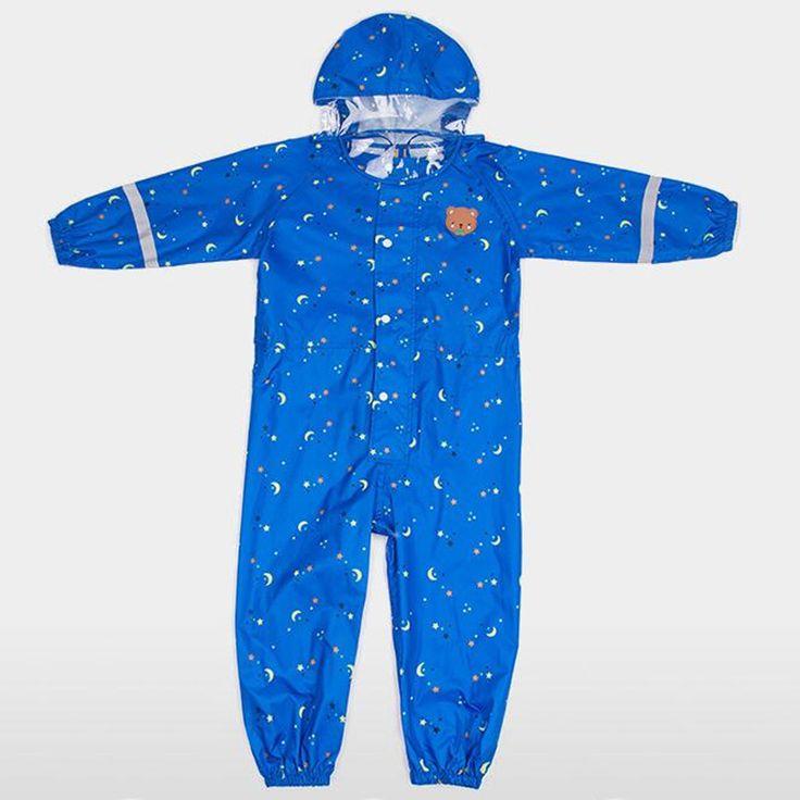 2-6Y Nylon Thin pants waterproof baby kids raincoats for boys girls,rain coat poncho children chubasquero capa de chuva infantil