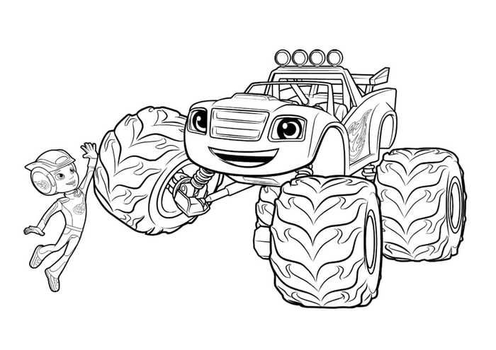 Printable Blaze And The Monster Machines Coloring Pages Free Coloring Sheets Monster Truck Coloring Pages Truck Coloring Pages Nick Jr Coloring Pages