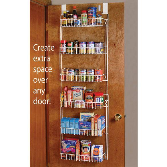 Over The Door Storage Rack                      XL