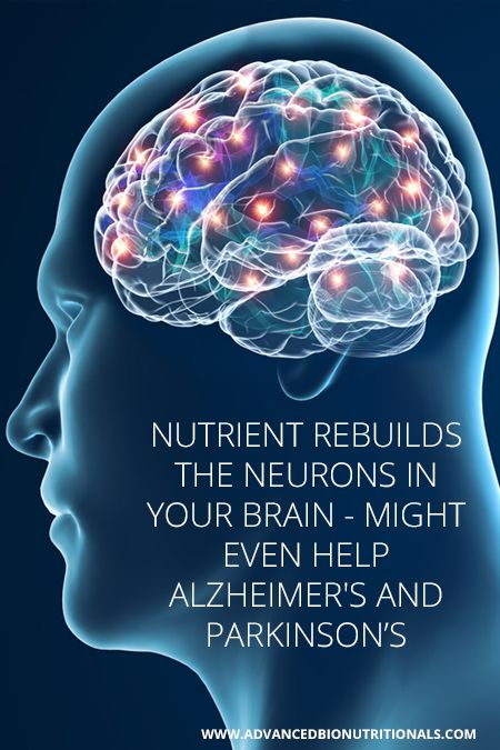Nutrient rebuilds the neurons in your brain - might even help Alzheimer's and Parkinson's