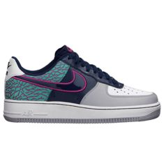 クレイジーな配色とエレファント柄のコンビがカッコいい、 NIKE AIR FORCE 1 07 ELEPHANT PRINT MIDNIGHT NAVY/MIDNIGHT NAVY-FUSION PINK - #garagekidthesneakerlover