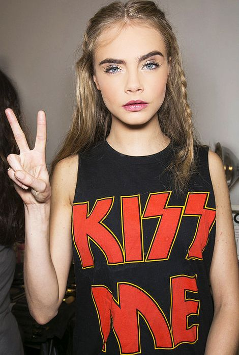 Cara always has the best make-up.