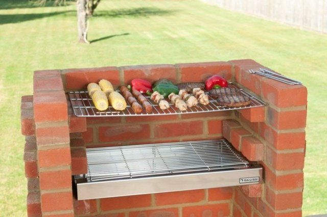 les 25 meilleures id es de la cat gorie barbecue en brique sur pinterest pit bbq grille en. Black Bedroom Furniture Sets. Home Design Ideas