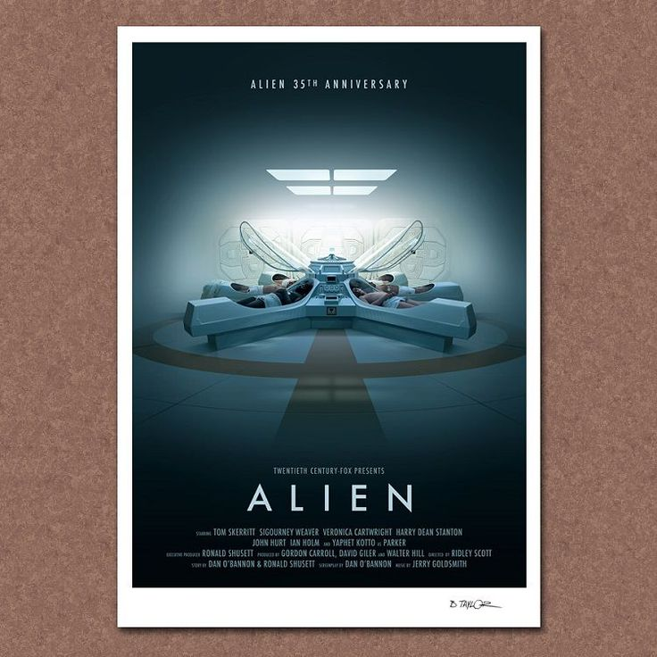 Alien 35 th Anniversary Poster