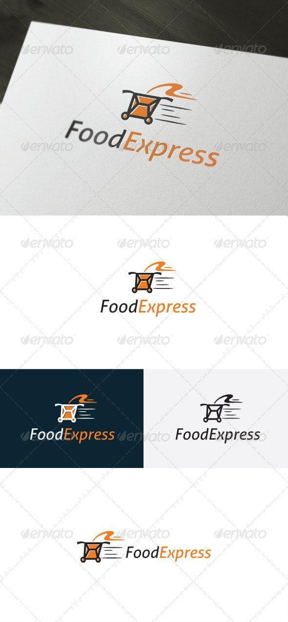 Food Express Logo Express Logo Logo Design Template Food Logo Design