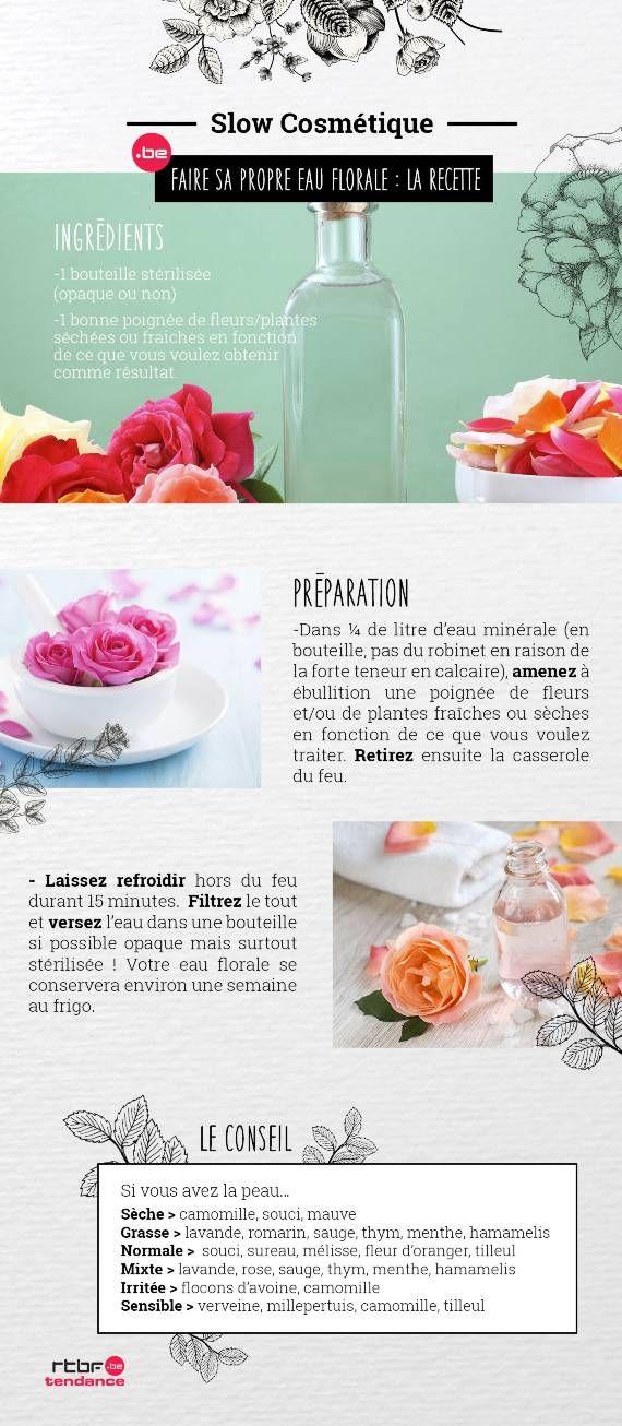 DIY Beauté : fabriquez votre eau florale - RTBF Tendance