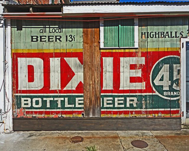 Dixie Beer sign, New Orleans (9-9-2011-007g8x10) by Louis Maistros Photography, via Flickr