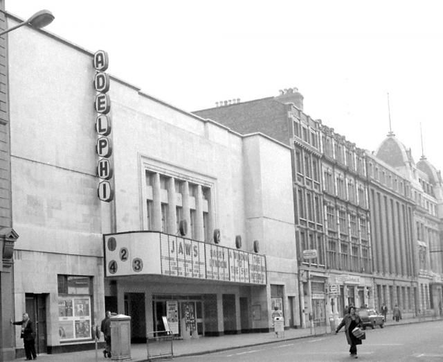 The Adelphi Cinema, Middle Abbey Street, March 1976