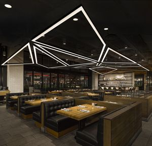 Custom Lighting Designed By Matthew McCormick Studio Earls Restaurant Boston DesignDenverBostonRestaurantsRetail