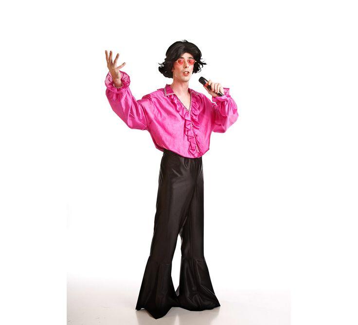 #Disfraz de #Cantantes de los #Años60 o #Hippie para #hombres. #disfrazzes #disfraces