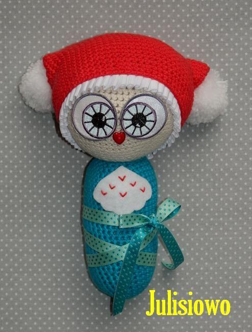 crochet baby owl  pdf pattern Julisiowo Etsy ttps://www.etsy.com/shop/Julisiowo?ref=hdr_shop_menu