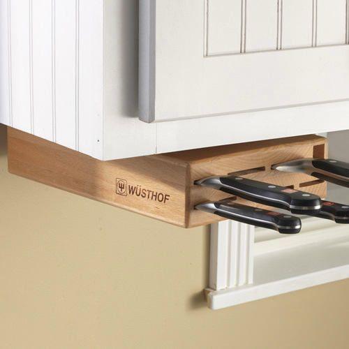 Ножны для ножей под шкафчиком