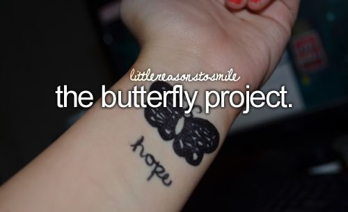 : Self Harm Drawings, Butterfly Drawn, Life, Butterflies, Butterflyproject, Butterfly Project Self Harm, Don T Forget, Butterfly Project Getting, Harm Awareness