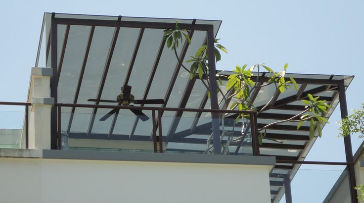 Another example of Polycarbonate Roofing