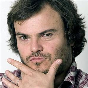 I've always adored Jack Black. Not because of his acting or his band...but because of his passion as a musician and his personality. Plus he just has an awesome name :)