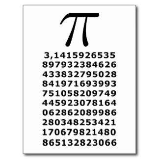 BLOG DEL DEPARTAMENTO DE CIENCIAS Y TECNOLOGÍA : El número PI, celebra su día el 14 de Marzo