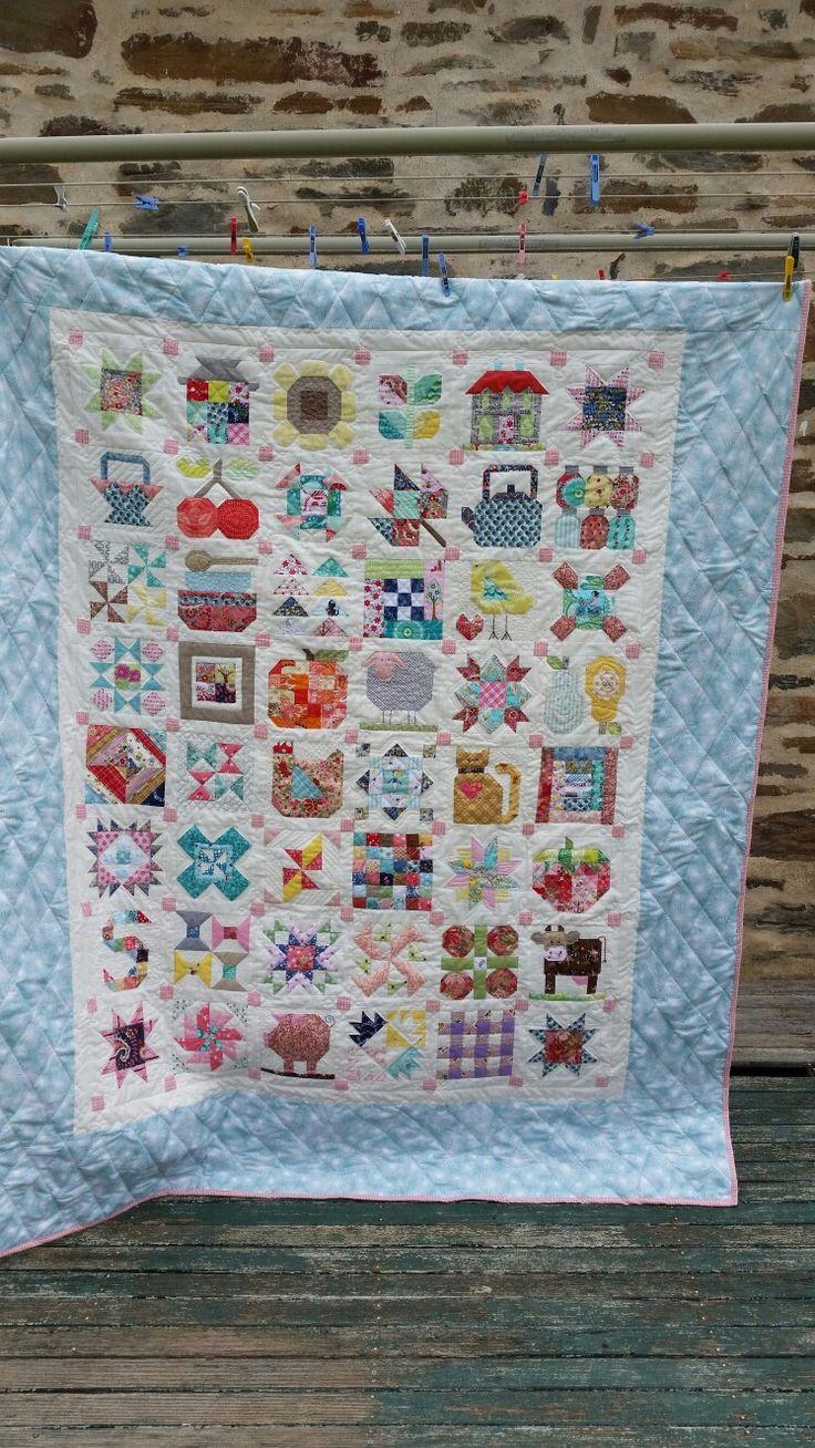 SIBELLA's farm girl vintage quilt