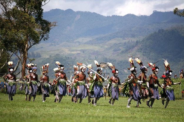 The country is home to over 700 unique tribes | Community Post: One Million Reasons Why Papua New Guinea Should Be On Your Bucket List