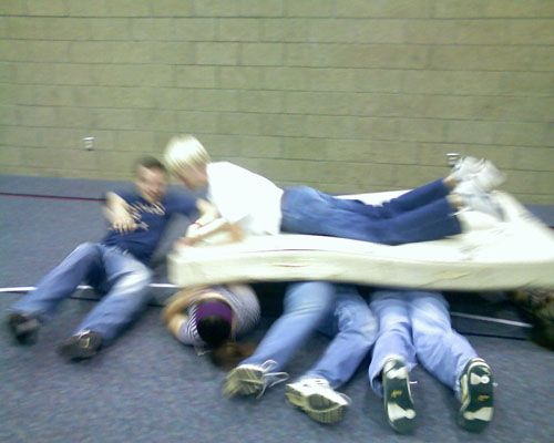 Favorite Youth Group Games: Mattress Surfing - Life In Student Ministry