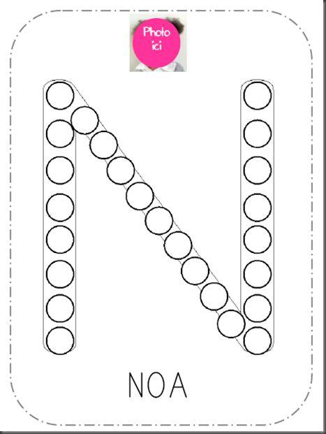 initiales avec ronds ( toutes les lettres)