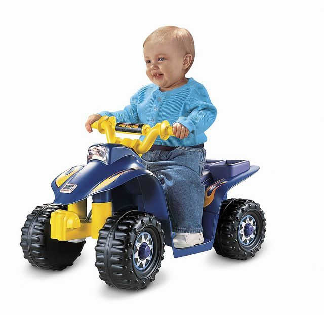 best selling power wheels lil quad kids electric quad bike for toddlers review