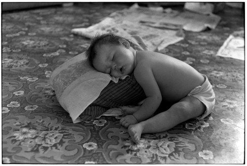Sleeping baby from the William Gedney Photographs collection at Duke University Libraries.