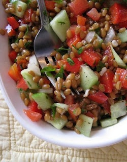 wheat berry tabouleh
