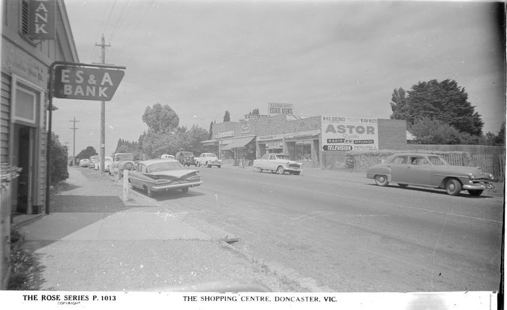 Doncaster road east of shoppingtown '50's