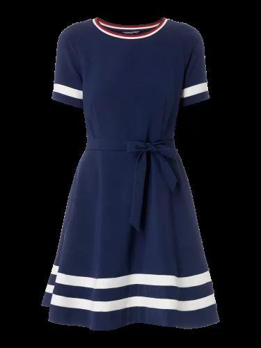 TOMMY-HILFIGER Kleid mit Streifendetails in Blau / Türkis online kaufen (9589680) | P&C Online Shop