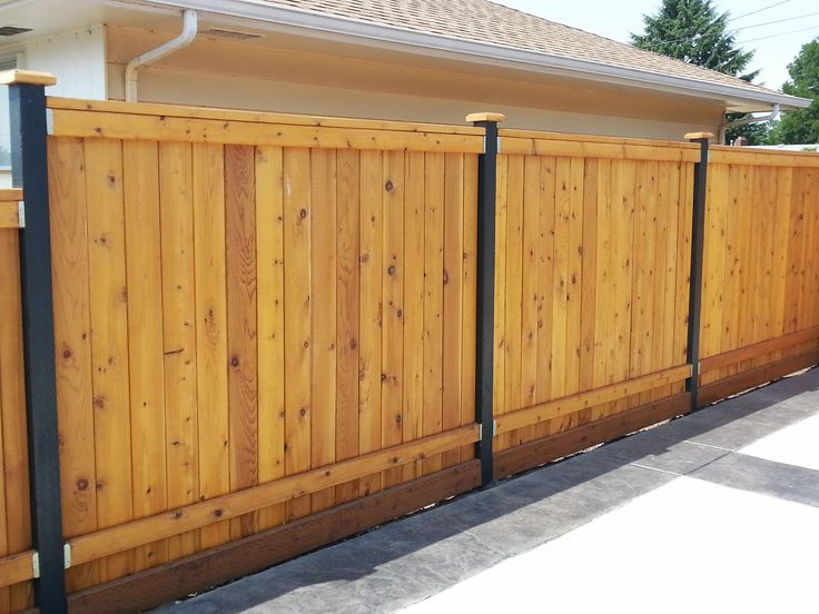 Extra tall fence posts google search sail sun shades for Cheap tall privacy fence