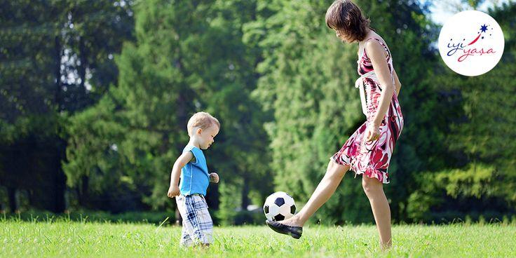 Çocuklarınızla birlikte spor yapmak onlarla aranızdaki bağı kuvvetlendirir.
