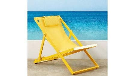 Deck Chair Yellow | Domayne Online Store