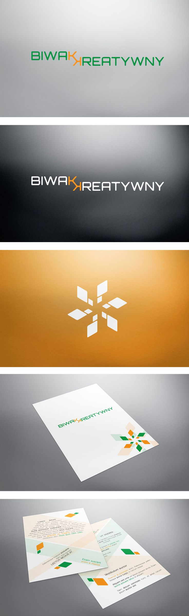 Visual Identity project designed for local Scouting event - creative education workshops.