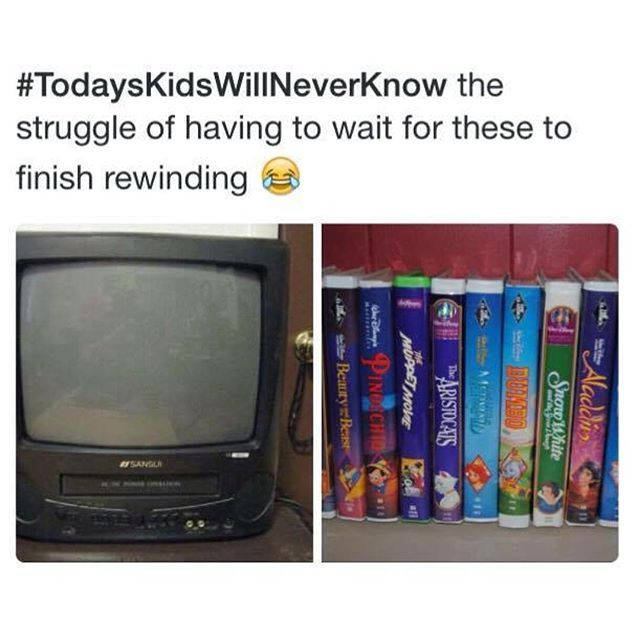 Be kind, please rewind. For realz
