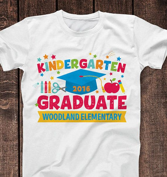 Kindergarten Graduation Shirt Kids Raglan or T Shirt