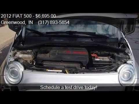 2012 FIAT 500 Sport 2dr Hatchback for sale in Greenwood, IN