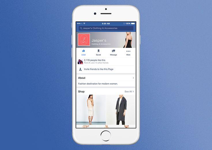 Facebook permitirá crear paginas Online para empresas corporativas...