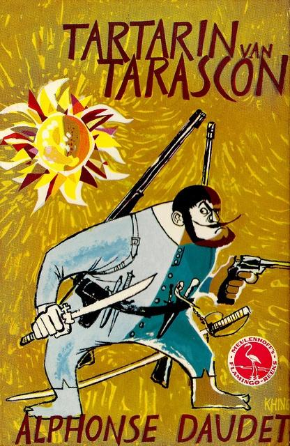 """The Tjong Khing : Illustration for : """"Tartarin van Tarascon"""", written by Alphonse Daudet"""