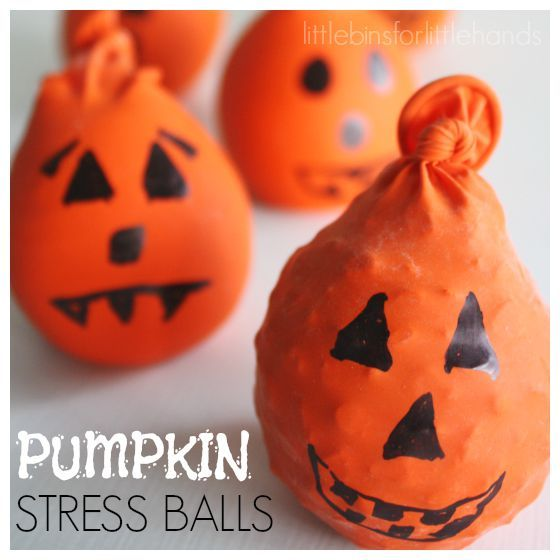Halloween calm down balls are an awesome stress and anxiety reliever. Easy to make, these calm down balls can be made in your kitchen! Easy sensory tool!