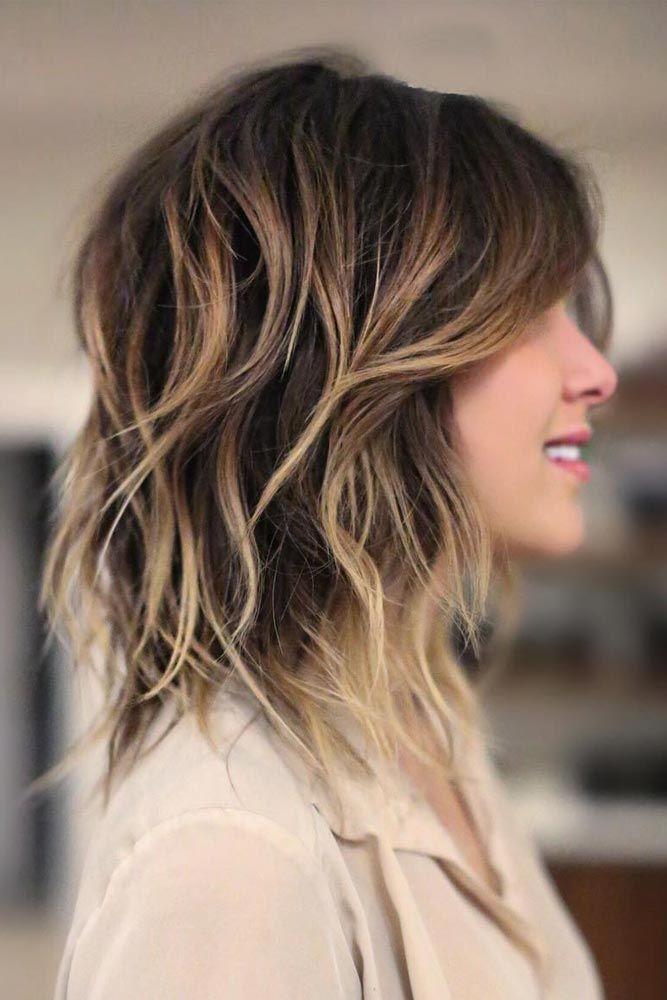 Short Summer Haircuts For Thick Hair : Best 25 shaggy haircuts ideas on pinterest longer layered bob