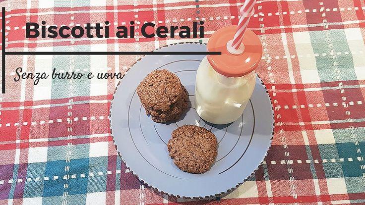 Biscotti integrali al cacao (senza burro e uova) #biscotti #veg #video #videoricetta #dolci #vegan #mangiarsano #youtube #pinalapeppina