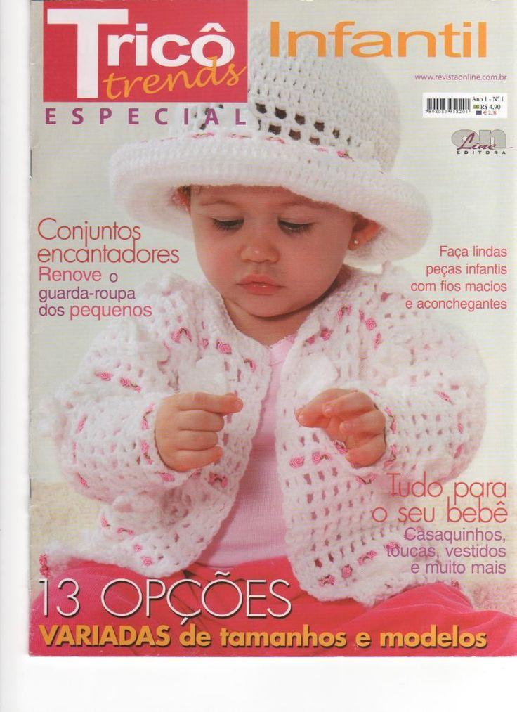 Revista TRICÔ TRENDS Infantil Especial - Receita Tricô Fácil