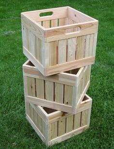 Wooden boxes stacked - more details please visit http://ift.tt/1XTolnA